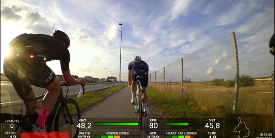 Video thumbnail for youtube video Bike Interval - Copenhagen Airport - DashWare
