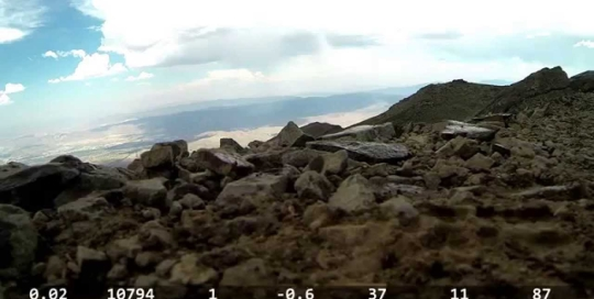 Video thumbnail for youtube video Mt. Rose Peak 10820 ft. hike - DashWare