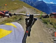 Video thumbnail for youtube video DH - Downhill | New Diable 2014, Les Deux Alpes - MTB - DashWare